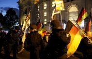The residents of major German cities took to the streets on Sunday to express their protest against racism.