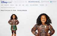 Disney halts sales of Moana costume after racism claims