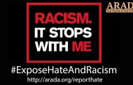 RACISM IT STOPS WITH ME…