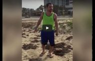 Racist Trump Supporter Harasses Muslim Family Vacationing At A Beach