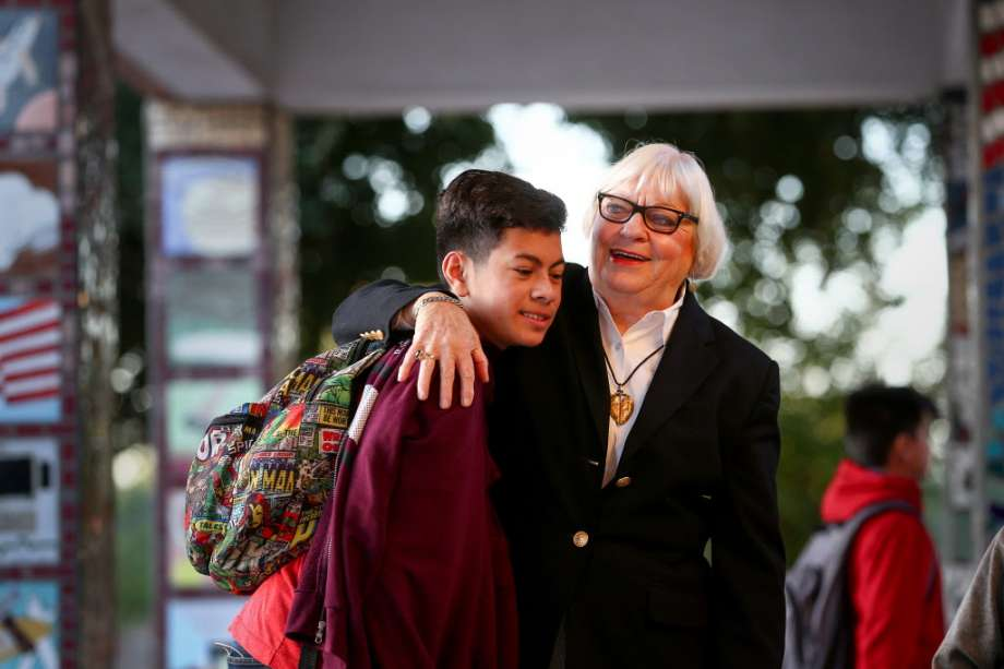 Furr High School principal, 83, claims age, race discrimination after she was removed