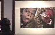Chinese museum accused of racism over photos pairing Africans with animals