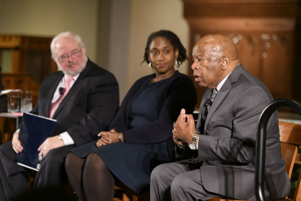 Georgetown panel talks racism, religion