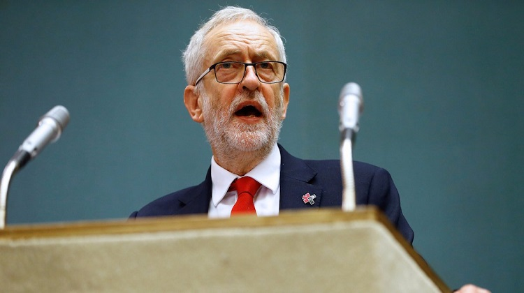 Jeremy Corbyn accuses Trump of spreading 'racism and misogyny'