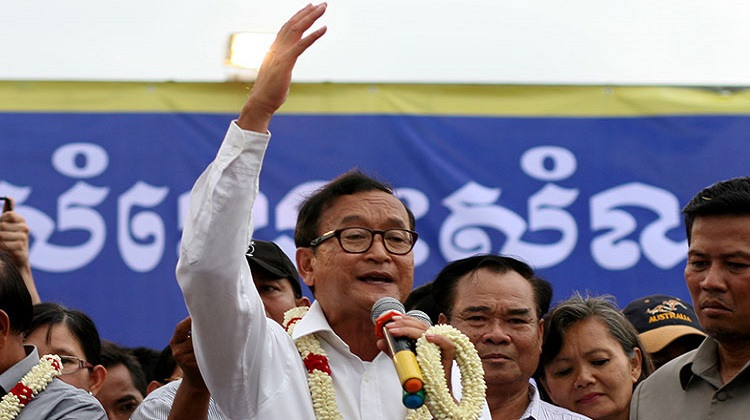 Rainsy fined $1m for defamation