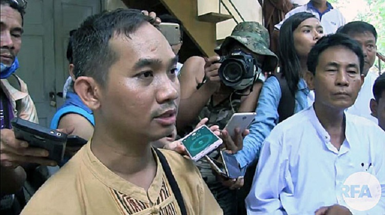 Myanmar Journalist Charged With Defamation Refuses to Apologize to Firebrand Monk
