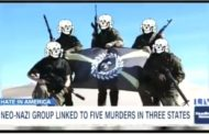 White Suprimacist Group Linked To Five Murders In Three States