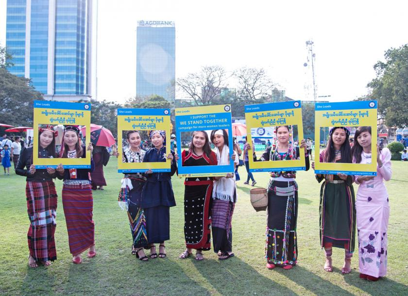 Women in Myanmar face many challenges, including discriminating social norms