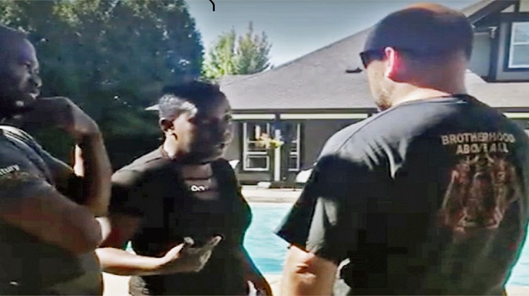Surrey mom believes racism behind accusation of sneaking into shared swimming pool
