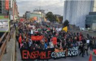 A mass protest against racism will take place in downtown Montreal this weekend