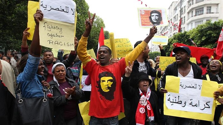 Tunisia 'needs a cultural revolution' to combat racism