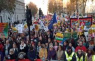 Thousands attend anti-fascist protest in London
