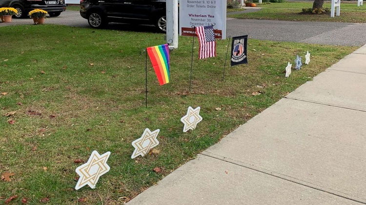 New York man hit with hate crime charges in serial theft of LGBT rainbow flags from church