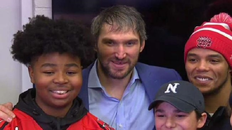 Washington Capitals Honor Youth Hockey Team for Standing Up Against Racism