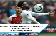 Premier League players to boycott social media in racism protest