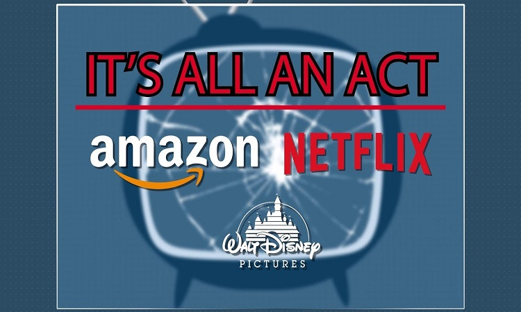 DISNEY, AMAZON, NETFLIX TARGETED OVER HUMAN RIGHTS
