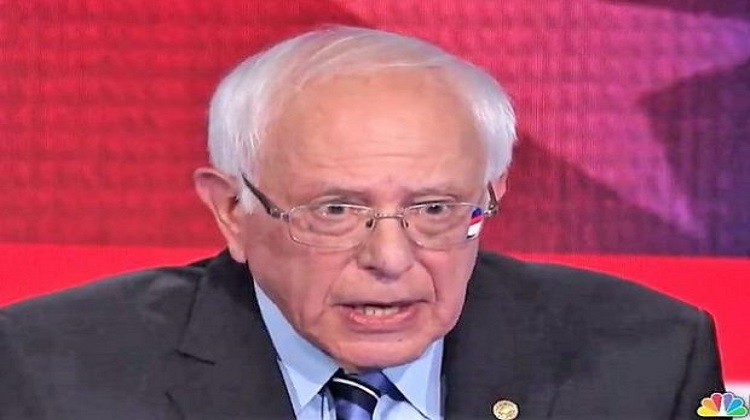 """Bernie Sanders Panders: Let's End """"Institutional Racism"""" By Emptying Prisons. And Stuff."""