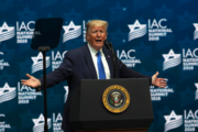 'Never had a better friend': Trump touts Israel record at Jewish gathering