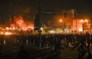 George Floyd: Protesters set Minneapolis police station ablaze
