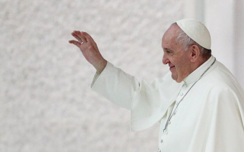 Pope Francis calls for civil union laws for same-sex couples