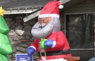 Arkansas man receives racist letter over black Santa decoration outside home