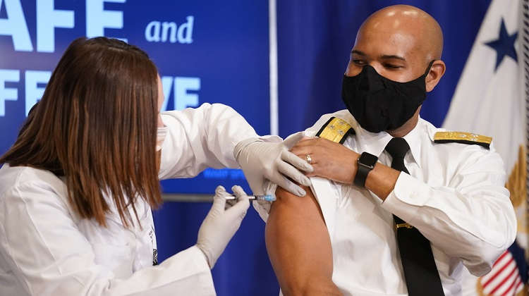 Surgeon General: Black Americans' Distrust In Vaccine Comes From History Of Medical Racism
