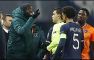 Players leave field after alleged racism in Champions League game