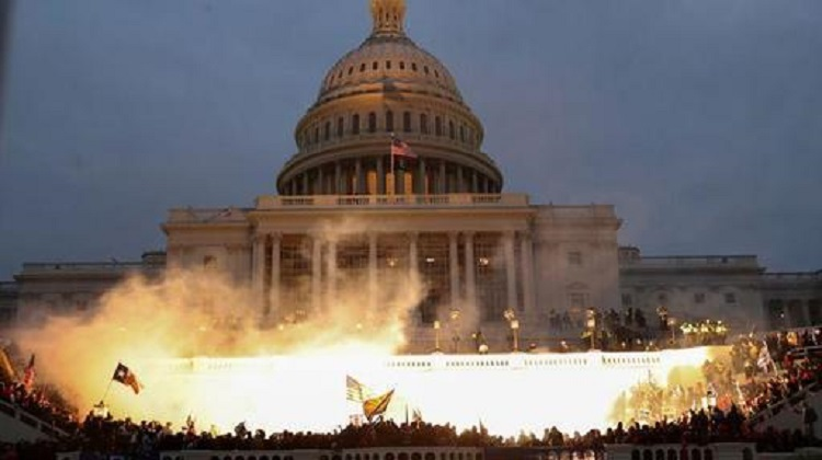 Capitol Chaos: Anti-Semitic Apparel Worn During Riot Traced To Website Based In New York City
