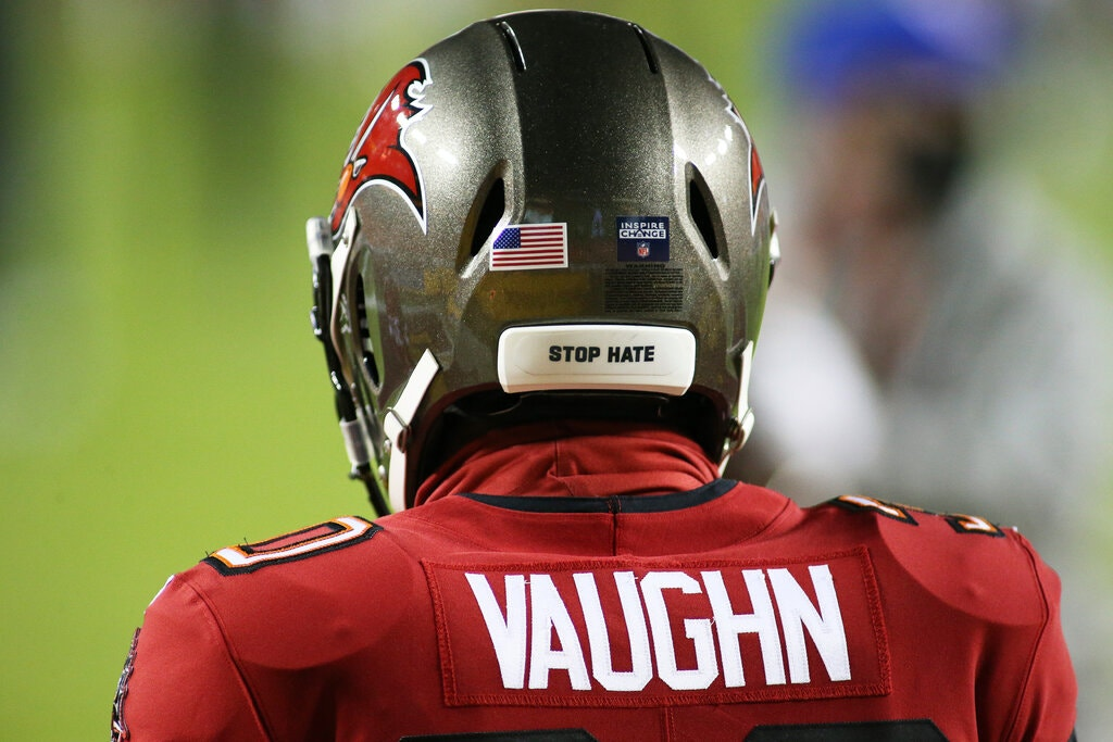 N.F.L. Will Allow Six Social Justice Messages on Players' Helmets